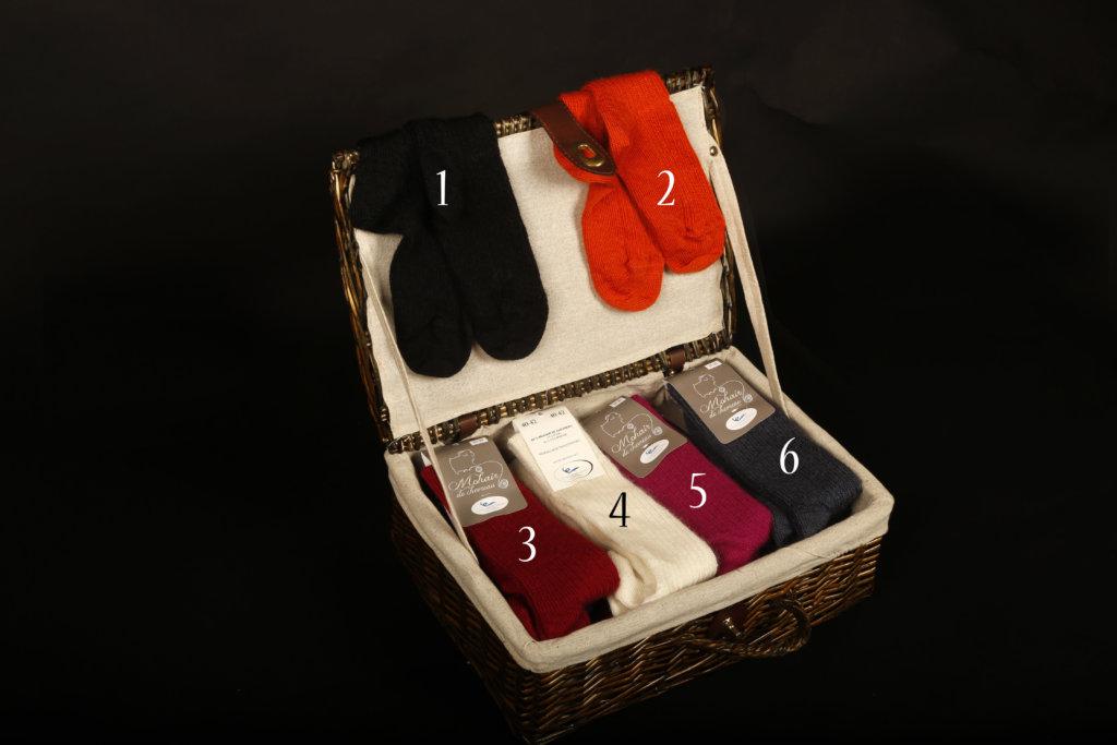 chaussettes mohair catalogue la ferme de siran