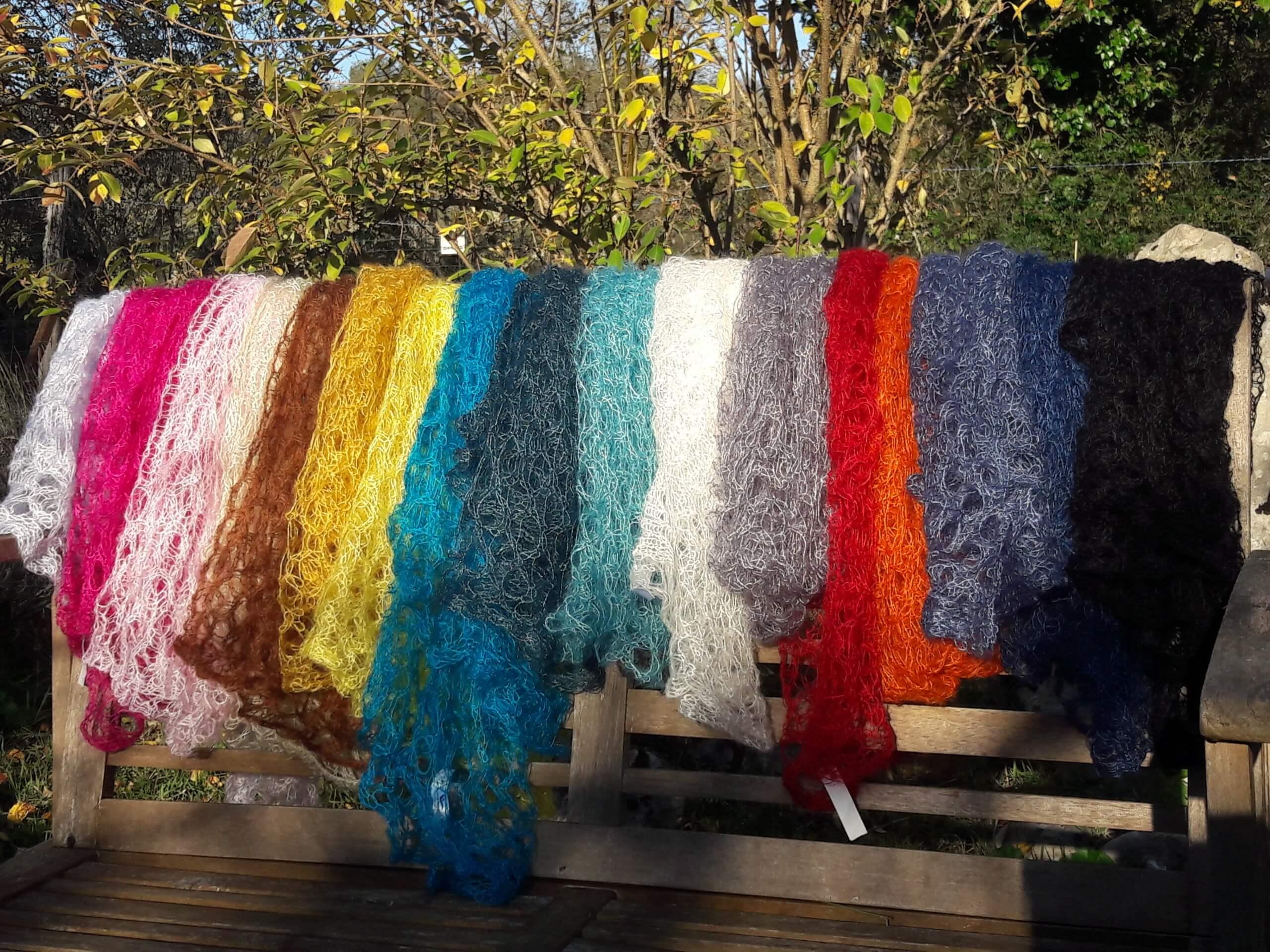 carrés+tricotés+mohair